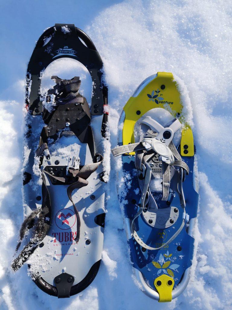 Schneeschuh Größen - das ist der Unterschied zwischen 22 und 25