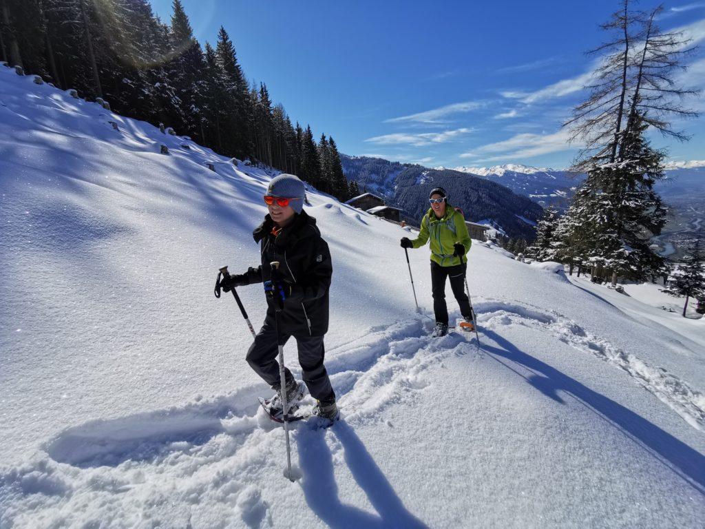Schneeschuhwandern mit Kindern - ein besonderes Wintererlebnis!