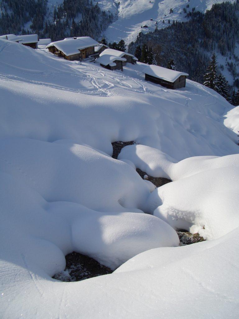 Schneeschuhe wandern - fern von Lärm und Trubel