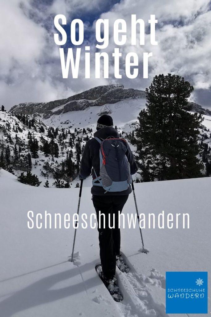 Schneeschuhwandern Rofan - merk dir diesen Pin auf Pinterest