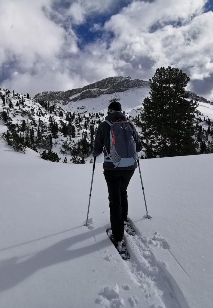Schneeschuhwandern Rofan - kommt mit auf die Schneeschuhwanderung in Tirol