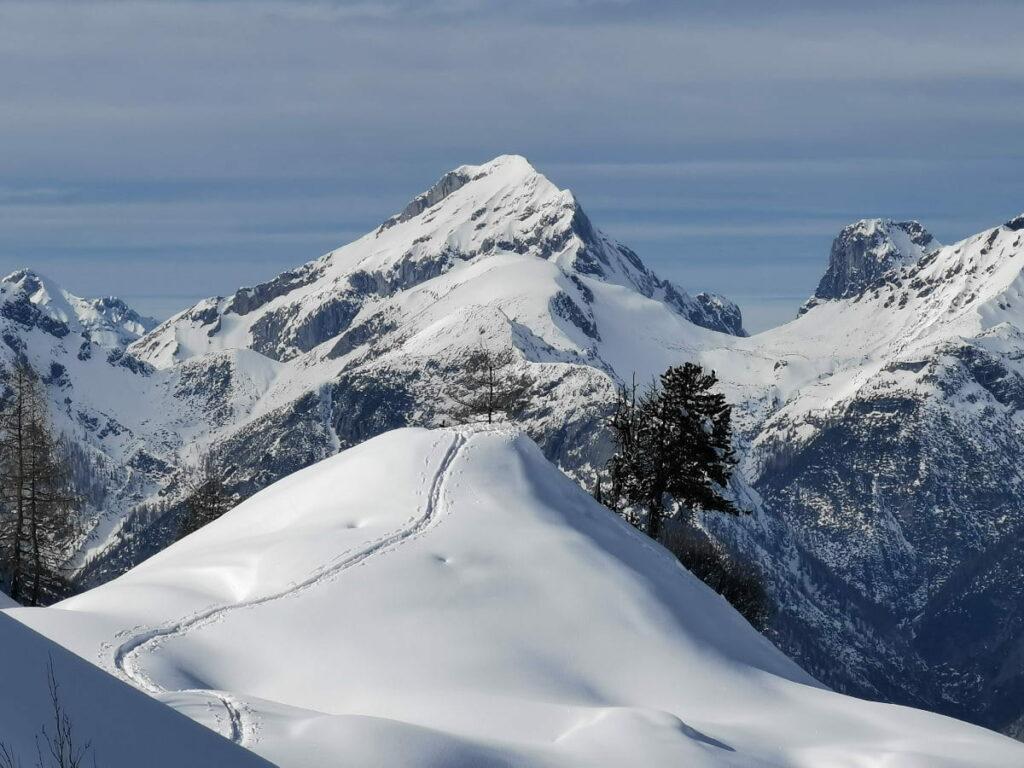 So schön kann Schneeschuhwandern sein