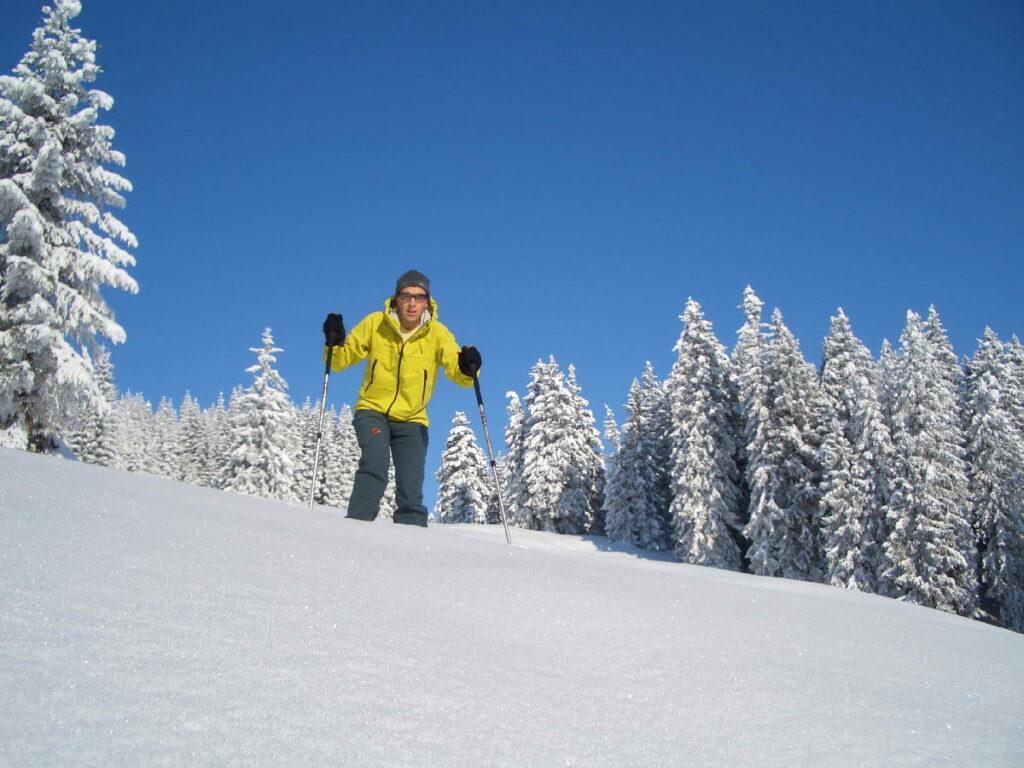 Schneeschuhwandern Tirol - mitten im Winterwonderland