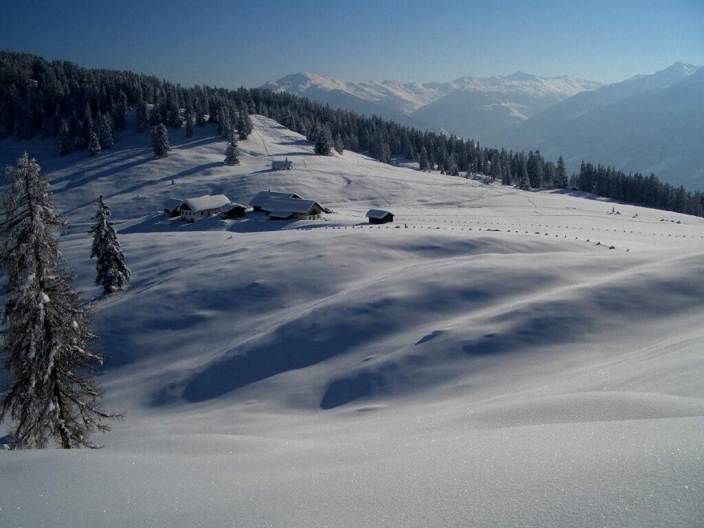 Zur Walderalm Schneeschuhwandern in Tirol